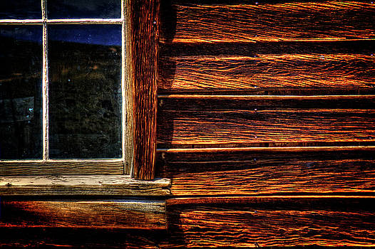 Window and Plank Siding Detail by Roger Passman