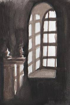 Window at the cathedral by Kate Loveridge
