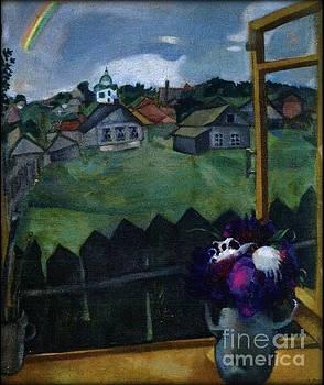 Chagall - Window at Vitebsk