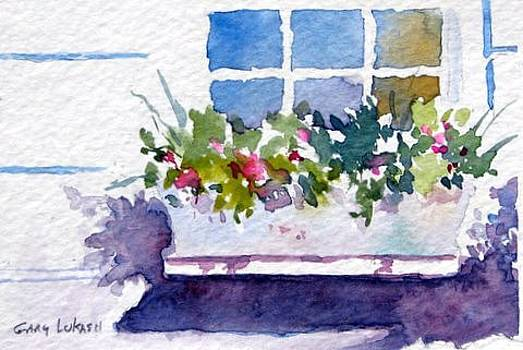 Window Box by Gary Lukash