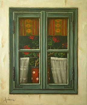 Window by Dusan Vukovic