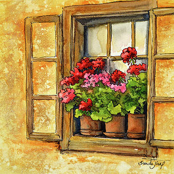 Window Garden by Brenda Jiral