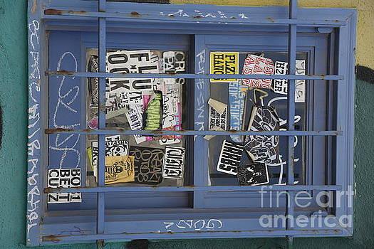 Chuck Kuhn - Window Graffiti