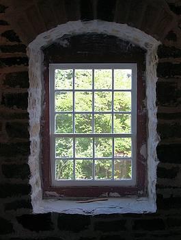 Valerie Kirkwood - Window in Stone Mill Delta