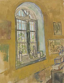 Window in the Studio Saint-Remy-de-Provence, September - October 1889 Vincent van Gogh 1853 - 1890 by Artistic Panda
