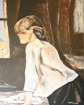 Window Lady by Garnett Thompkins