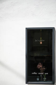 window of Cafe by Hyuntae Kim