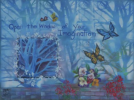 Window of Imagination by Mikki Alhart