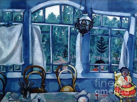 Chagall - Window Over A Garden