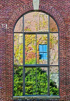Window Reflection by Georgette Grossman