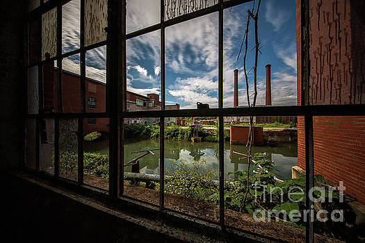 Window To Lindale Mill by Doug Sturgess