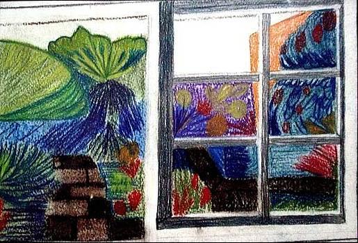 Window view by Eloudi Coetzer