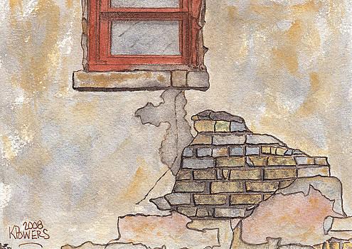 Ken Powers - Window with Crumbling Plaster