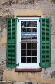Andrew Wilson - Window With Shutters