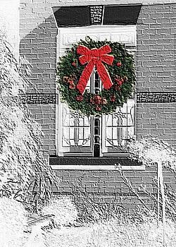 Window Wreath by Robynne Hardison
