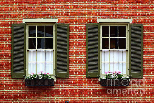 Windows and Shutters in Frederick Maryland by James Brunker