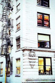 Windows and Stairs by David Emond