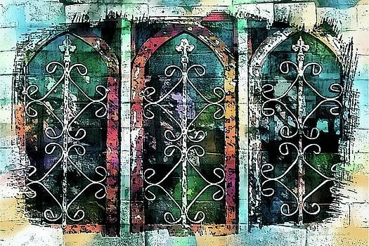 Windows De Mesilla by Barbara Chichester