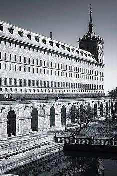 Windows of El Escorial Spain by Joan Carroll