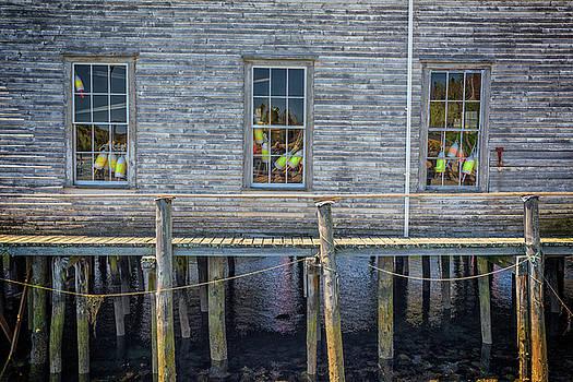 Windows of the Lobstermen's Shop by Rick Berk