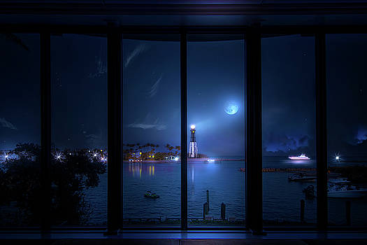Windows to the Lighthouse by Mark Andrew Thomas