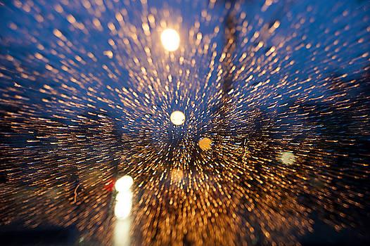 Windshield Rain by Dennis Clark