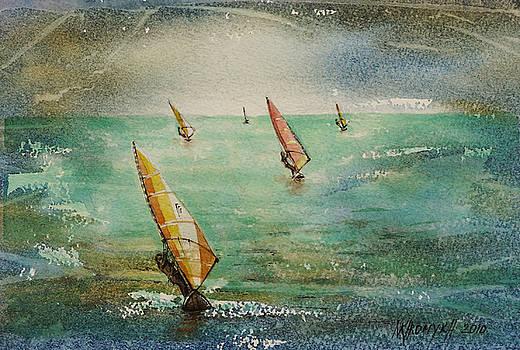 Windsurf by Khromykh Natalia