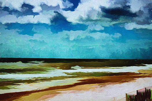 Barry Jones - Windswept Coastline
