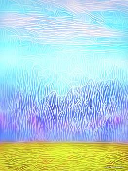 Windswept Desert Mountains by Joel Bruce Wallach
