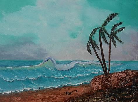 Windy Hawaiian Waves by Dorothy Merritt