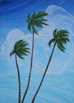 Windy Palms by Juan Alcantara