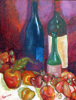 Wine and Apples by Charlotte Smith
