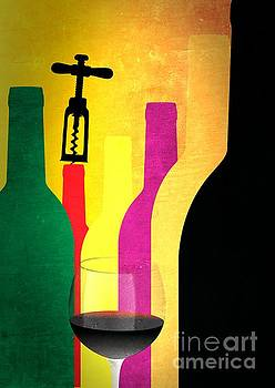Wine and bottles by Stefano Senise