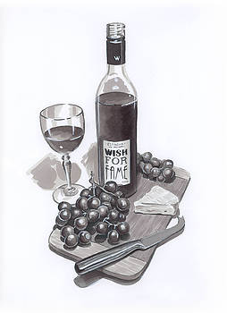 Wine and Cheese by Brandy Woods