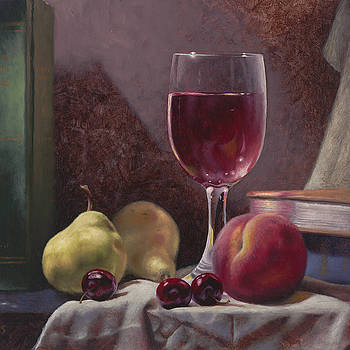 Wine and Fruit by Timothy Jones