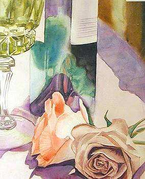 Wine and Roses by Martha Ayotte