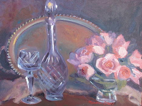 Wine and Roses by Maureen Obey
