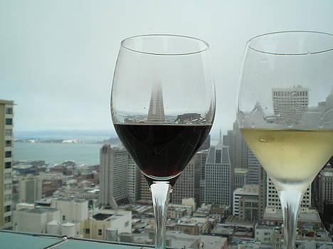 Wine and San Francisco by Kim Blumenstein
