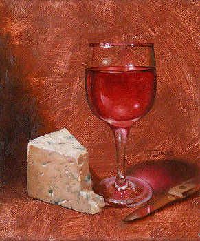 Wine and Stilton by Timothy Jones