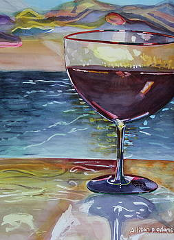 WINE and WATER by Allison  Adams
