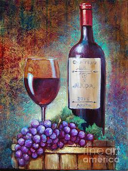 Wine Barrel Tasting by Geraldine Arata