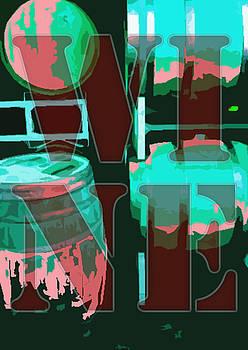 Wine Barrels by Derick Van Ness