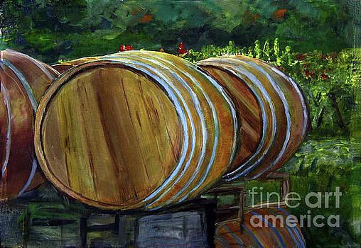Donna Walsh - Wine Barrels