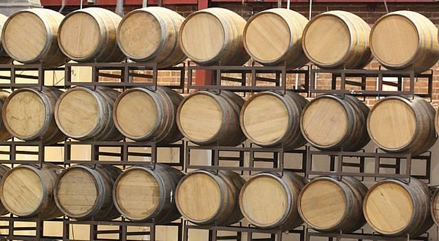 Gary Canant - Wine Barrels
