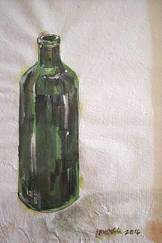 Wine bottle by John Ostrowick