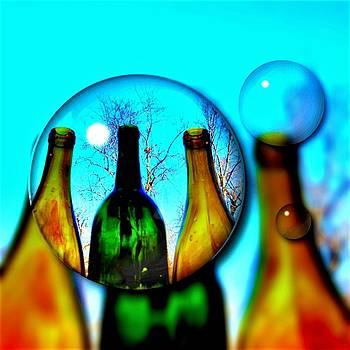 Wine Bubbles by Vijay Sharon Govender