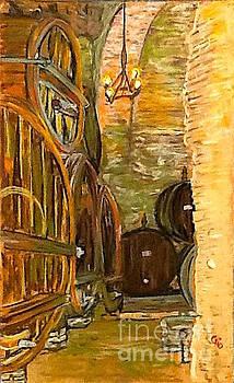 Wine Cellar in Montepulciano by Frank Giordano