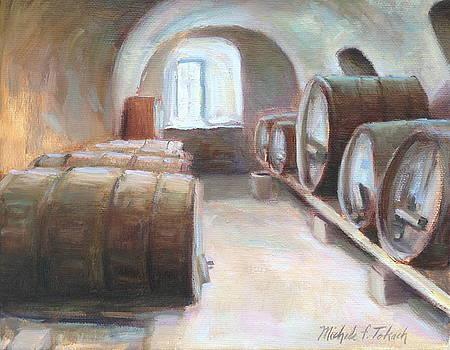 Wine Cellar in Switzerland by Michele Tokach