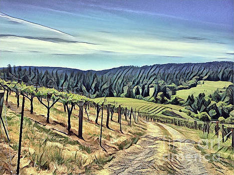 Wine Country Trail by Alberta Brown Buller