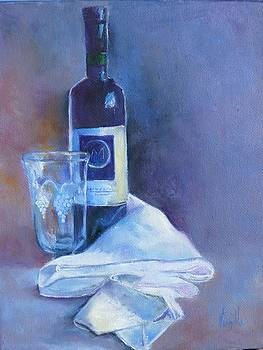 Wine Elegance  by Virgilla Lammons